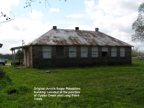 This building was probably used to prepare food for the Arcola plantation workers.