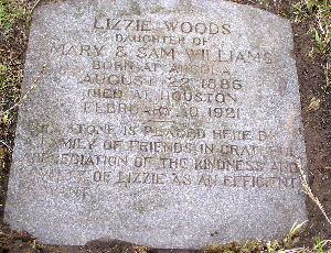 Lizzie Woods 'A loyal servant'