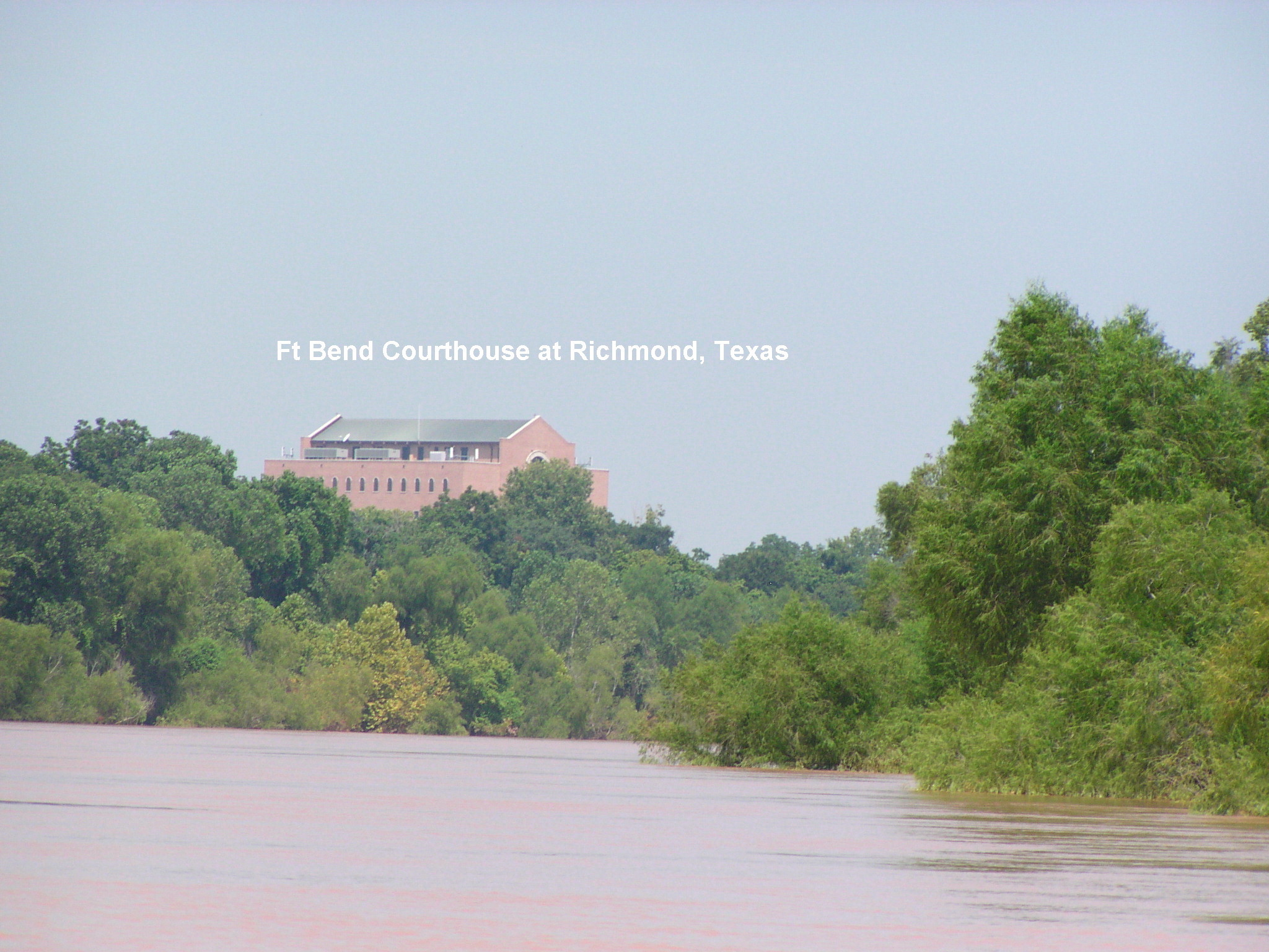 The new court house at Richmond. This is about 25 miles upstream from Miller Rd.