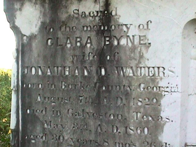 Born in 1829 Clare died in 1860.